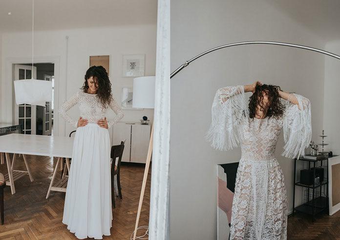 Kogo zabrać ze sobą na poszukiwania sukni do salonu sukien ślubnych?