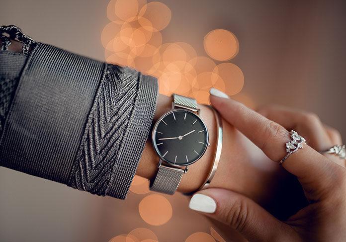 Elegancki zegarek do pracy