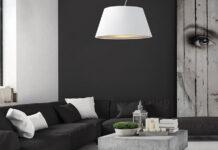 Tekstylny abażur na lampę
